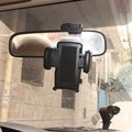 """Car Rearview Mirror Mount Cradle Holder For Iphone 7 4.7"""" 5.5"""" Plus 6G 6S"""
