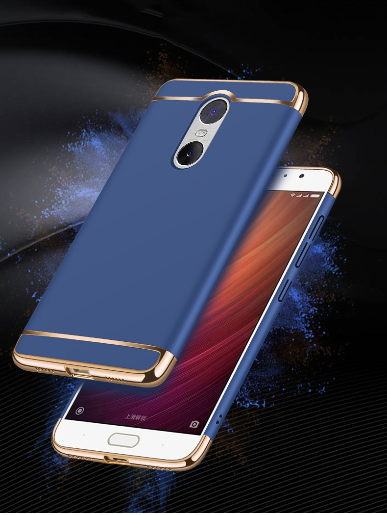 3-In 1 Anti-Shock Plastic Hard 360 Full Protect Xiaomi Redmi 4X Note 4 Redmi Note 5 Note 5A Redmi 5 Plus Back Cover Case Xiaomi