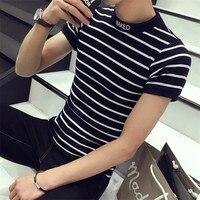 Cos Tun New New Brand Elastic Mens T Shirt V Neck Short Sleeve Men T Shirt Male Big