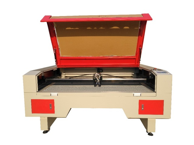 1610 Double Head Co2 Laser Engraving And Cut Machine.Honeycomb Table.Laser  Tube150W.