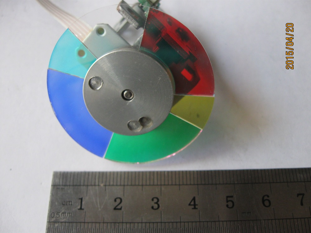 Projector Color Wheel For Sharp XR-N855SA XR-D256XA xr e2530sa color wheel 5 color beam splitter used disassemble