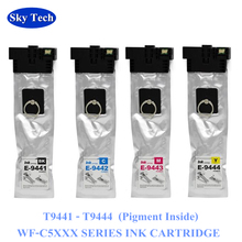 Compatible Ink Cartridges For T9441 - T9444 , For Epson WorkForce Pro WF-C5210DW / WF-C5290DW / WF-C5710DWF / WF-C5790DWF 10x new ink cartridges for workforce wf 3010dw wf 3520dwf wf 3530dtwf wf 3540dtwf printer t1291 t1294