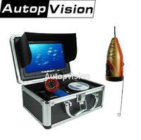 Original 7 Video Fish Finder HD 1000TVL Lights Controllable Underwater Fishing Camera Kit Ice Lake Under Water fish cam