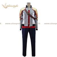 Kisstyle Fashion Ixion Saga DT Kon Hokaze Uniform COS Clothing Cosplay Costume Customized Accepted