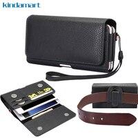 Dual Pockets Belt Clip Bags Waist Holster Case For Samsung Galaxy S8 Plus S8 A7 J7