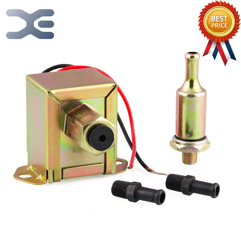 Car Modification Fuel Pump 12V Universal Pump For Fuel Transfer Electronic Fuel Pump Auto Replacement Parts Gasoline Pump