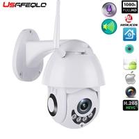 WIFI Camera Outdoor PTZ IP Camera H.265X 1080p Speed Dome CCTV Security Cameras IP Camera WIFI Exterior 2MP IR Home Surveilance Surveillance Cameras