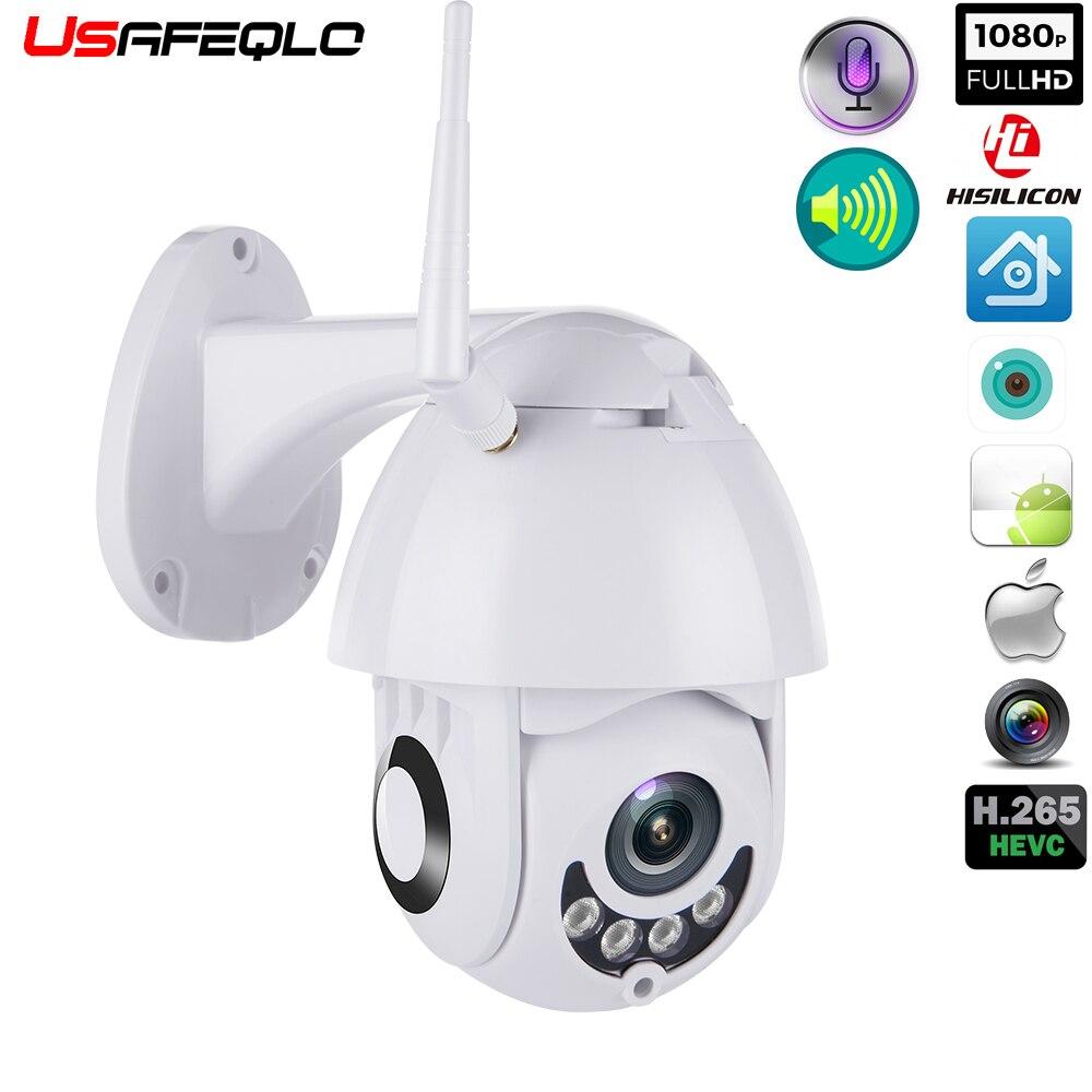 WIFI cámara PTZ al aire libre cámara IP H.265X 1080 p velocidad Domo CCTV cámaras de seguridad Cámara cámara IP WIFI Exterior 2MP IR casa monitoreo enteramente