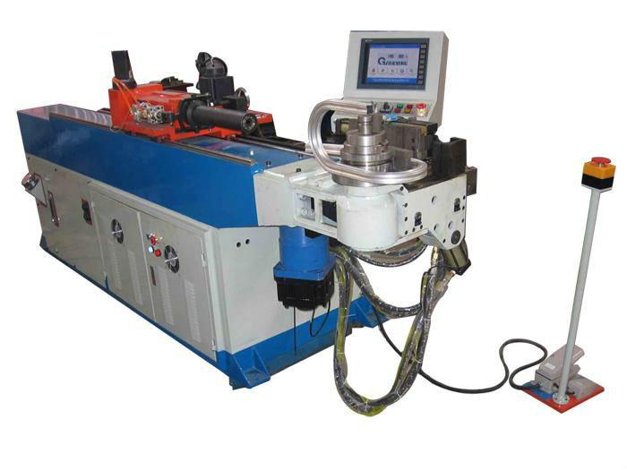 Hydraulic Pipe Bending Machines : Hydraulic pipe bending machine tube
