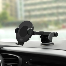 Infrared Sensor Fast QI Car Wireless Charger Phone Holder for iPhone XS MAX Samsung Mobile Stand Air Vent Mount