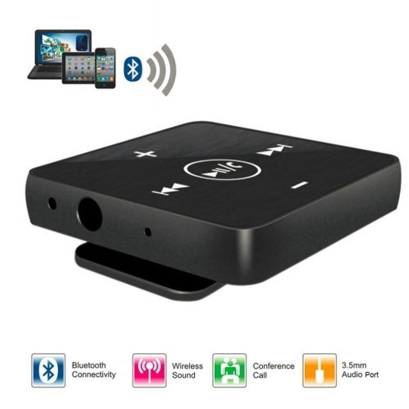 Desxz EB-601 Drahtlose Bluetooth-ohrhörer Clamp Kragen Lavalier MINI Sport Empfänger Box mit...