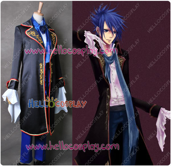 Vocaloid 2 Cosplay Kaiton Costume Sandplay Singing Of The Dragon Song H008 image