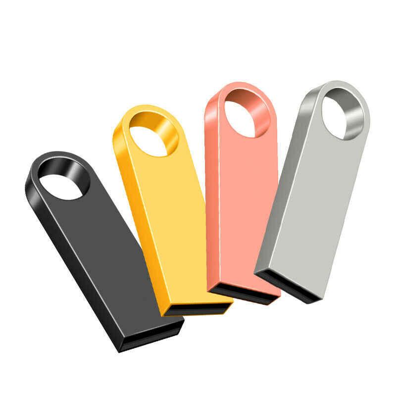 Оптовая продажа Водонепроницаемый USB Flash Drive металлическая ручка привода 4 GB 8 GB 16 ГБ, 32 ГБ, 64 ГБ cle usb флешки USB флеш-накопитель Drive с брелок