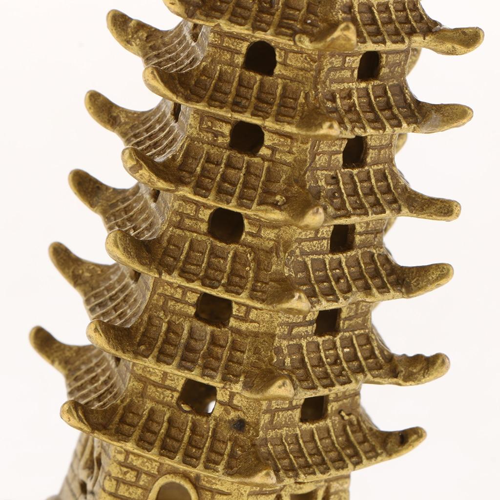 wenchang tower model handcraft china pagoda culturale decorazioni per la