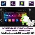 Apoiar traseira da câmera do carro DVD player GPS de Rádio para V/W G/olf m/k6 5 P/olo/J etta T/iguan/P assat B6 5 cc s/koda o/ctavia