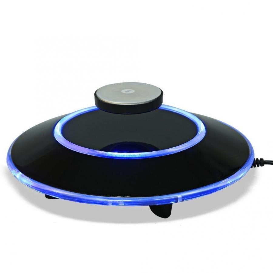 Magnetic Disc Bracket Rotating Platform Magnetic Levitation Platform LED Maglev Rotating Ion Revolution Platform Wall Brackets