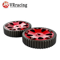 VR RACING STORE 2pcs Cam Gears Pulley For MITSUBISHI EVO 1 2 3 4 5 6