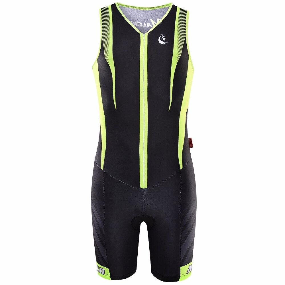 ФОТО Malciklo Sleeveless Jumpsuit 2017 Pro Fabric Ropa Ciclismo Maillot Cycling Jerseys Skinsuit Bike Clothing Triathlon Sport S017