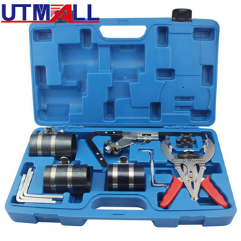 цена на Piston Ring Service Tool Set Auto Engine Motor Cleaning Piston Ring Expander Compressor Tool Set