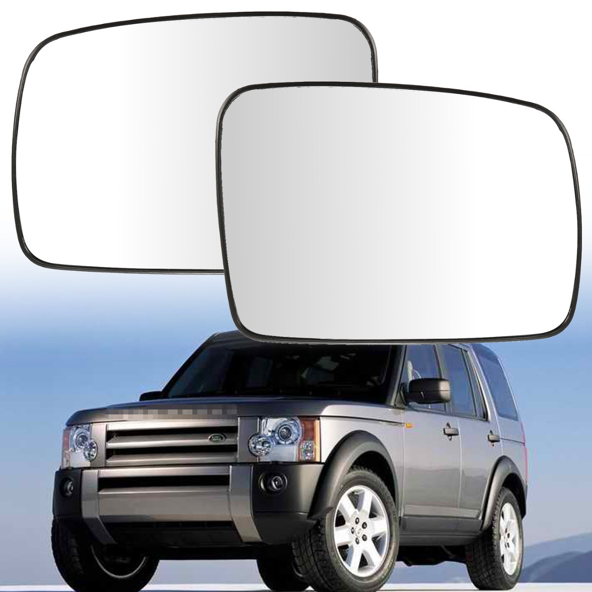 LAND ROVER DISCOVERY 2013 WING MIRROR GLASS HEATED CONVEX RIGHT