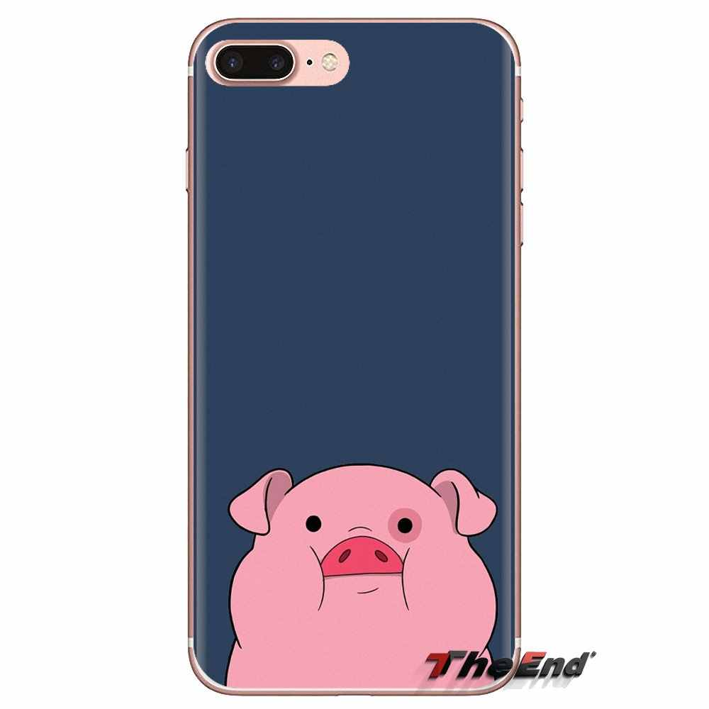 Fundas transparentes suaves cubiertas de cerdo bonito de gran venta para Xiaomi mi 4 mi 5 mi 5S mi 6 mi A1 a2 5X6X8 9 Lite SE Pro mi Max mi x 2 3 2S