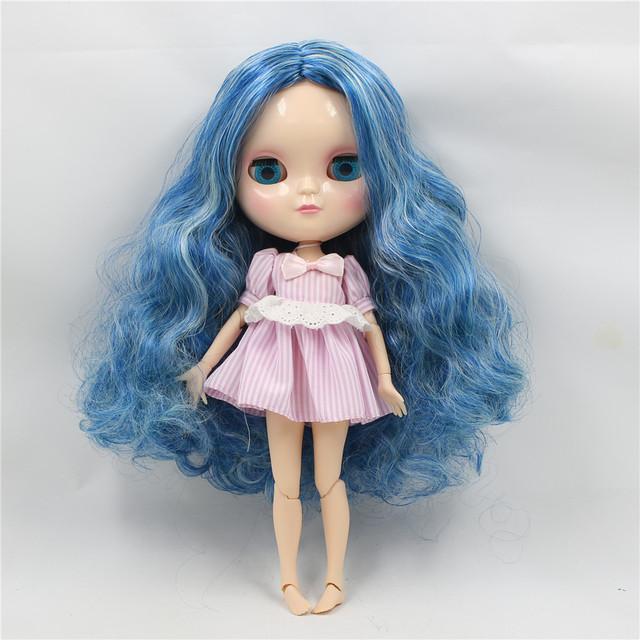 ICY Neo Blythe Doll Blue Mint Center dio kose Azone zglobno tijelo