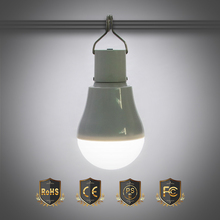 LED Solar Light Garden Outdoor Lighting Portable Camping Energy Lamp USB Rechargeable Bulb Night 15W