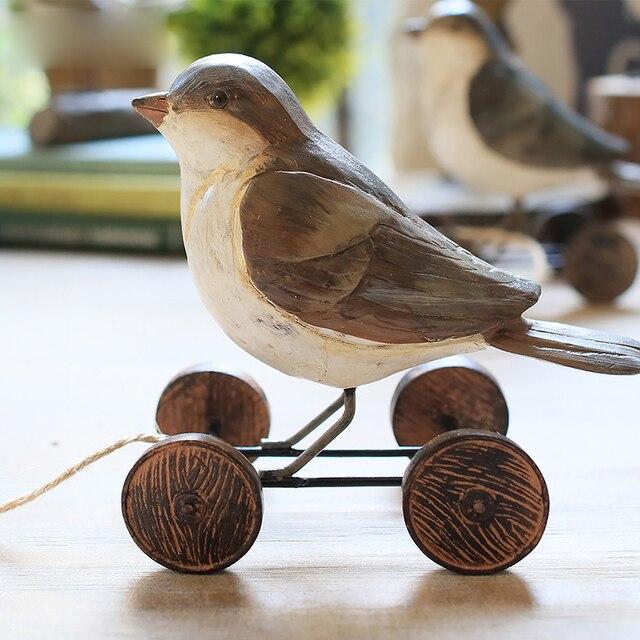 Американский Сельский птичка Перевозки гостиной оформлены Творческий меблировки статей подарки ко дню рождения свадебные пример номер Деко