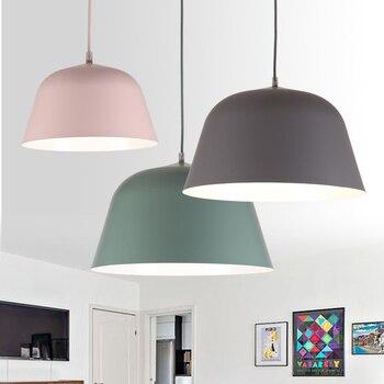 nórdica colgantes Luces led modernas adornos lámpara 8wymnP0ONv