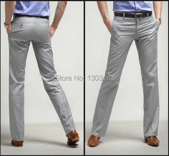 2016 mode gris hommes costume simple boutonnage 1 bouton Slim Fit costume de mariage (costume + pantalon + cravate) gris clair livraison gratuite - 6