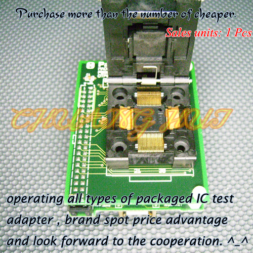 PB98101A0 Programmer Adapter OTP80TF12-101CP39 IC51-0804-808 QFP80-DIP32 Adapter/IC SOCKET/IC Test Socket tsop32 dip32 adapter test socket ic socket for prom8908e programmer adapter 14mm 12 4mm