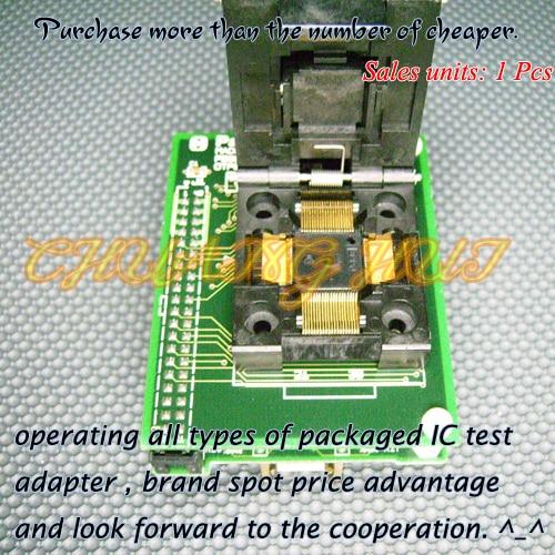 PB98101A0 Programmer Adapter OTP80TF12-101CP39 IC51-0804-808 QFP80-DIP32 Adapter/IC SOCKET/IC Test Socket