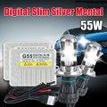 AC 12V G55 55 watt H4 9004 9007 H13  BIXENON BULB HID xenon kit 4300K 5000K 6000K 8000K 10000K  xenon h4 high low 8000k