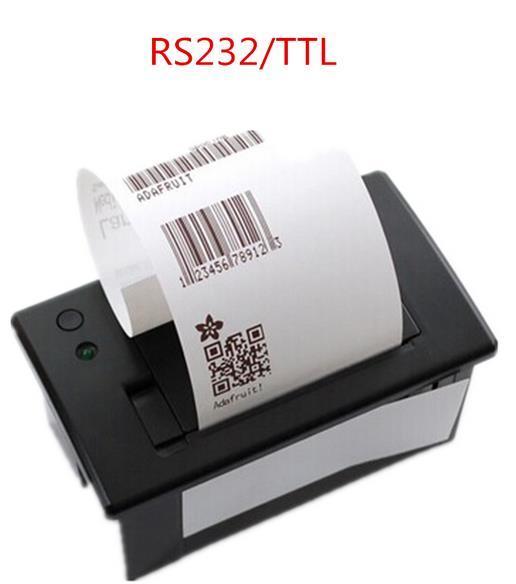 58 мм Встроенный Тепловой Чековый Принтер Мини Принтер Панели TTL RS232