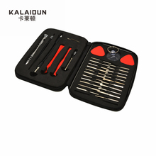 KALAIDUN  32pcs precision multi-function screwdriver set maintenance of mobile phones small computer disassemble hand tools set
