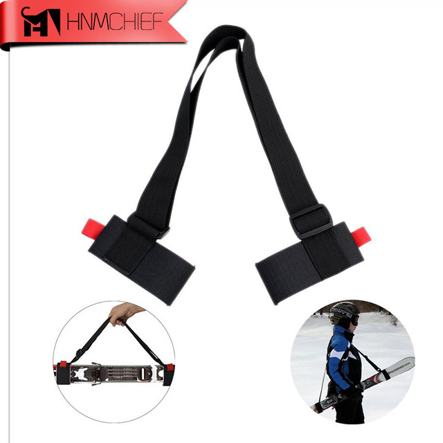 Ski Snowboard Black Handbags Cross Country Skiing Pole Bag Mountain Skiing Snow Board Protection Backpack Ski Shoulder Carrier