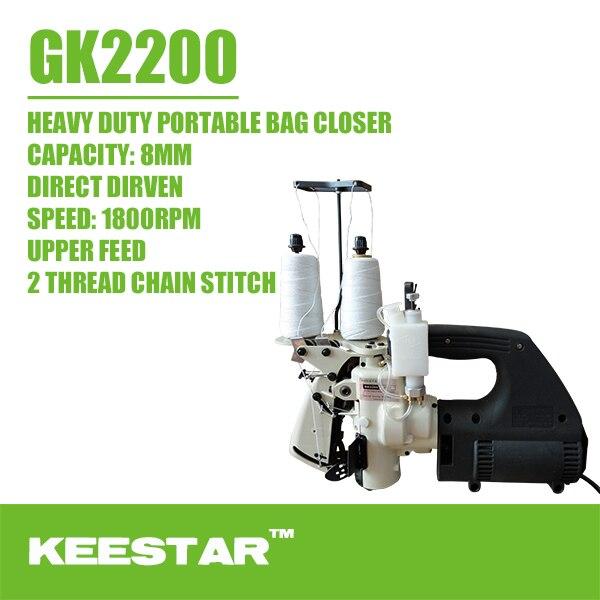 Keestar GK40 Single Needle Semi Automatic Portable Bag Closer Mesmerizing Feed Bag Sewing Machine