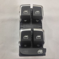 NEW Genuine Chrome Driver Side Electric Master Window Switch For AUDI A4 S4 Q5 2008 2009 2010 2011 2012 2013 2014