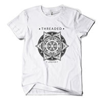 LEQEMAO Mandala T Shirt Fashion Print Indie Hipster Urban Design Mens Girls Tee Top New 3D