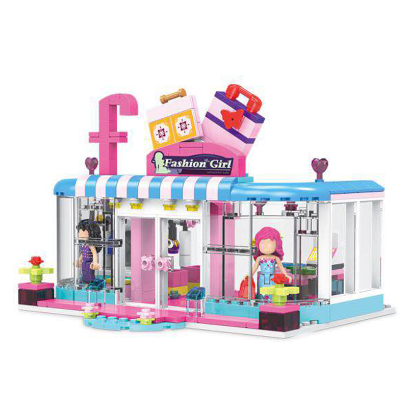 XINGBAO 12010 New 453Pcs City Girls Series The Fashion Clothing Store Set Building Blocks Bricks Educational Funny Kid Toys Gift мужская классическая рубашка fashion city 2015new