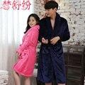 Пижамы халат халат женщины банный халат мужской халат банный халат женщины сексуальная главная износ одеяние платье устанавливает