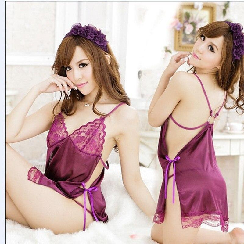 Erotic Lingerie For Women 2016 font b Sex b font Underwear Costume Sexy Sleepwear Lace Puprle