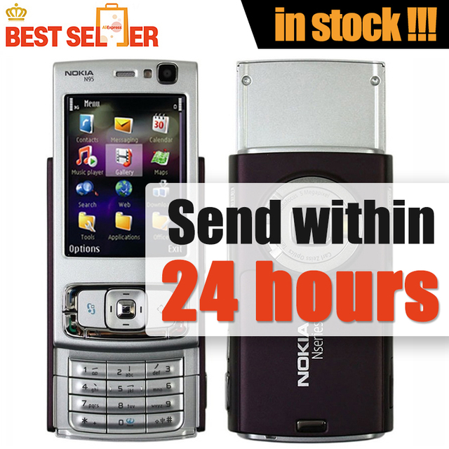 unlocked n95 8gb original phone nokia n95 gsm 3g wifi gps bluetooth rh aliexpress com nokia n95 user manual Nokia N70