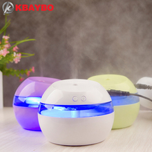 KBAYBO 290ml  Electric USB diffuser Aroma Diffuser Ultrasonic Air Humidifier with 7 colors LED night light mist maker for home
