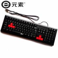 K320 profissional USB Wired Keyboard Gaming Preto design Ergonômico 104 Chaves para o Desktop Laptop Teclado Para Jogos Tipos Básicos