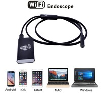 2 0 MP Metal WiFi Box Endoscope Snake Tube Inspection Camera For IOS Android Phones 9mm
