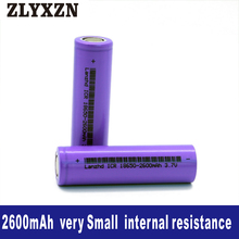 12PCS 18650 Li-ion 3.7v Battery 2600mAh 26f lithium batteries for Laptop,Toy,Electric drill battery,Power battery,lion