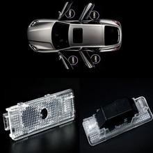 4pcs/lot Car-styling for BMW Emblem Logo Light For BMW E39 E53 X5 E52 Car Door Light Welcome Light LED Laser Ghost Shadow Lamp цена