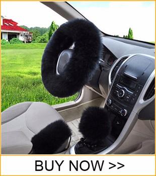 01 Winter Car Steering-wheel Cover