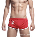 2014 Summer new shorts fashion casual natural movement stretch cotton solid beach  bodybuilding shorts